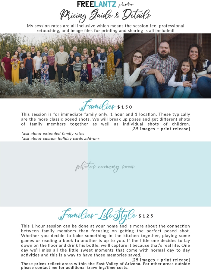 FAMILIES,LIFESTYLE FAMILY-pricing